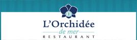 Logotype L'ORCHIDEE DE MER