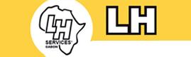 Logotype LH SERVICES GABON