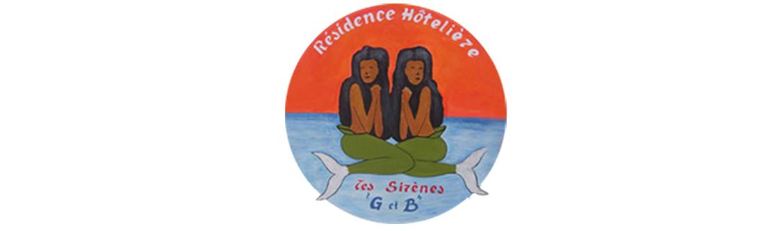 Logotype RESIDENCE HOTELIERE LES SIRENES G&B
