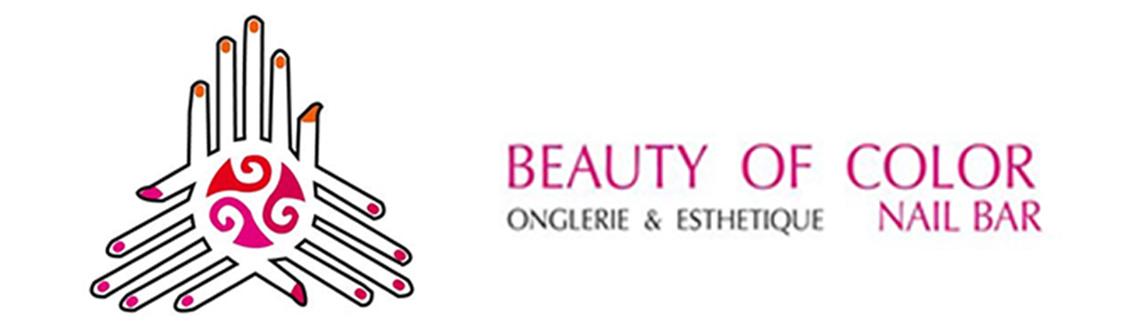 Logotype Beauty of Color Nail Bar