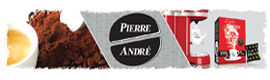 Logotype CAFES PIERRE ANDRE