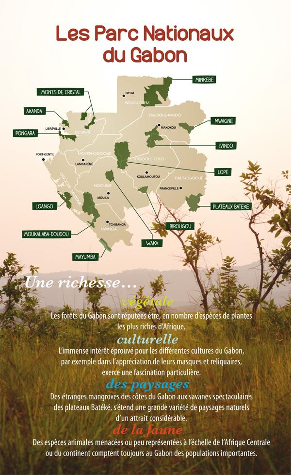 Les Parcs nationaux du Gabon