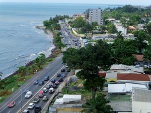 Centre ville à Libreville