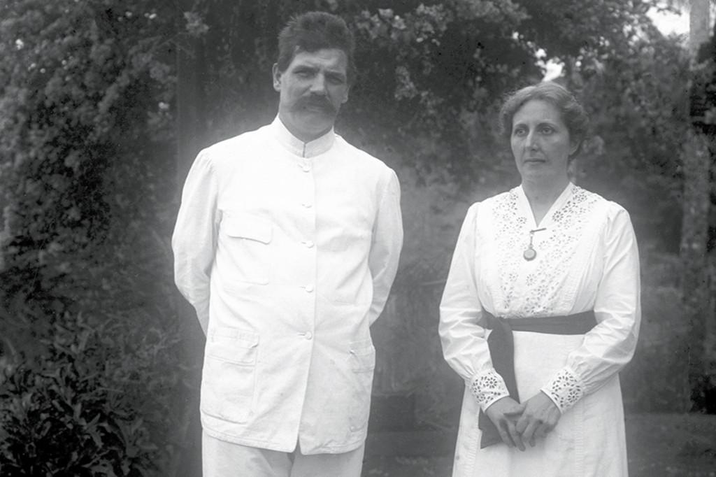 Albert Schweitzer et son épouse