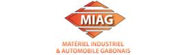 Logotype MIAG (MatEriEl IndustriEl Et AutomobilE Gabonais)