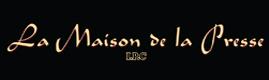 Logotype LA MAISON DE LA PRESSE