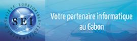 Logotype SEI (Société Equatoriale d'Informatique)