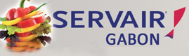 Logotype SERVAIR GABON
