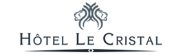 Logotype HOTEL Le CRISTAL