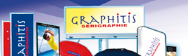 Logotype GRAPHITIS SERIGRAPHIE