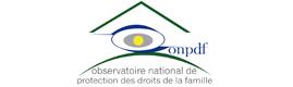 Logotype ONPDF - OBSERVATOIRE NATIONAL DE PROTECTION DES DROITS DE LA FAMILLE