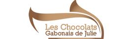 Logotype LES CHOCOLATS GABONAIS DE JULIE