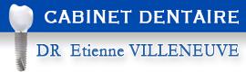 Logotype CABINET DENTAIRE Dr Etienne VILLENEUVE