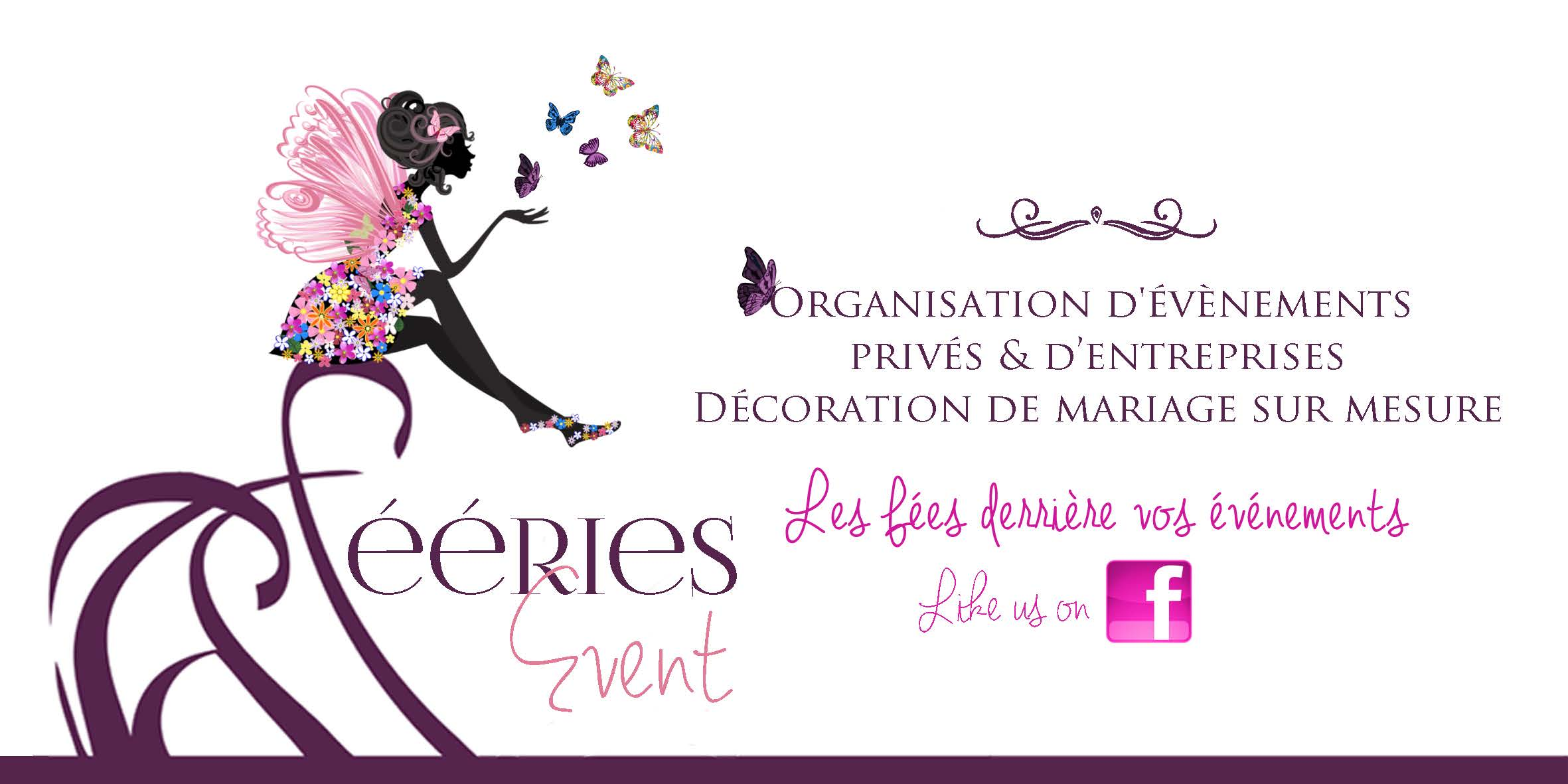 Logotype Fééries Event