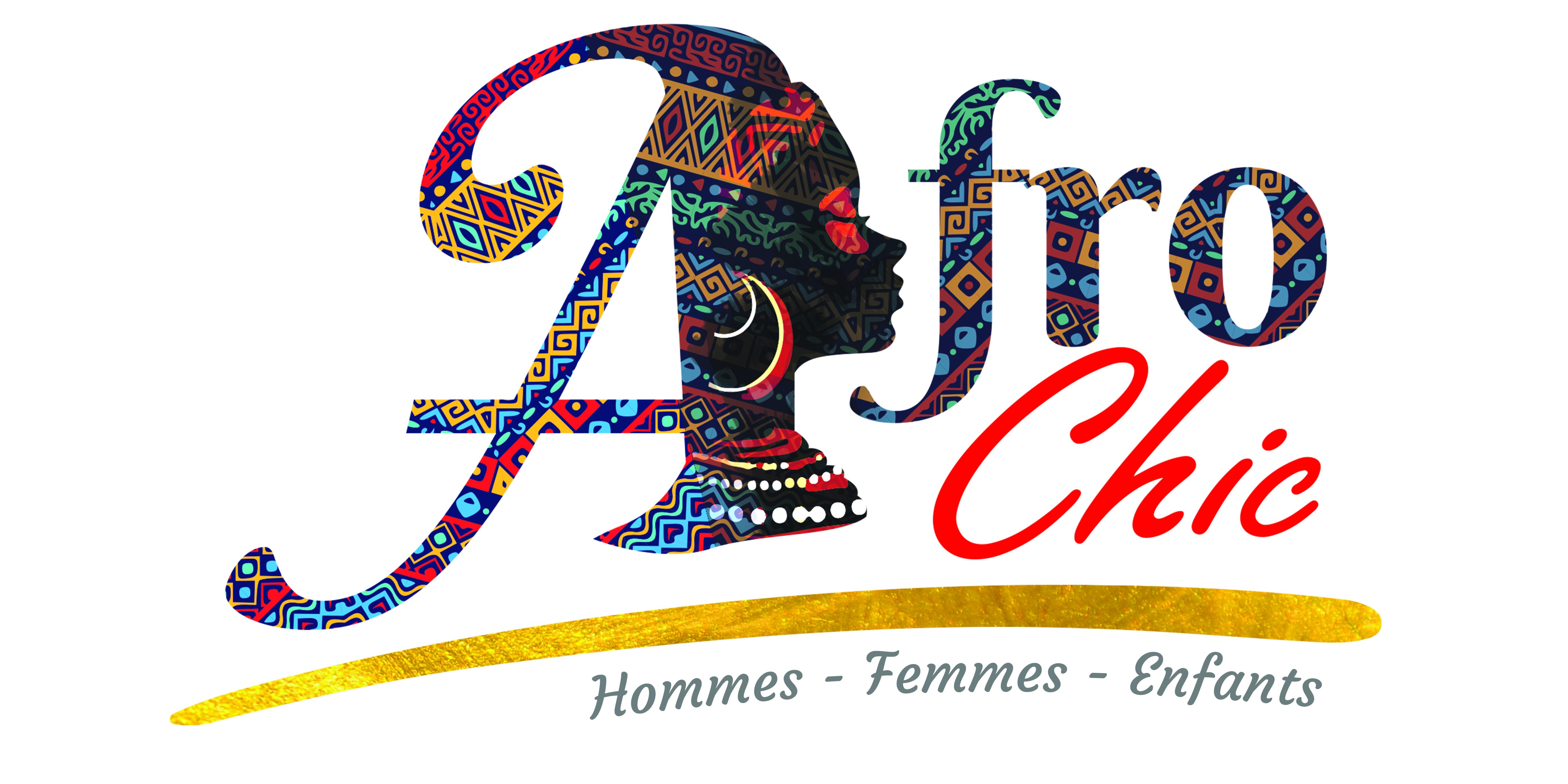 Logotype Afro Chic