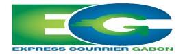 Logotype Express Courrier Gabon
