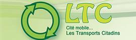 Logotype LES TRANSPORTS CITADINS (LTC)