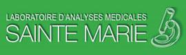 Logotype LABORATOIRE D'ANALYSES MEDICALES SAINTE-MARIE