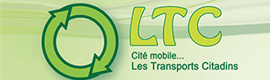 Logotype LES TRANSPORTS CITADINS ( LTC)