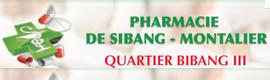 Logotype PHARMACIE DE SIBANG-MONTALIER