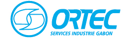 Logotype ORTEC SERVICES INDUSTRIE GABON