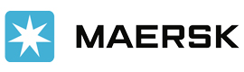 Logotype MAERSK GABON