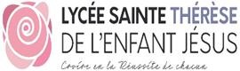 Logotype LYCÉE SAINTE THÉRÈSE DE L'ENFANT JÉSUS