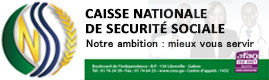Logotype CAISSE NATIONALE DE SECURITE SOCIALE
