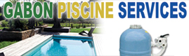 Logotype GABON PISCINE SERVICES