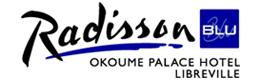 Logotype RADISSON BLU OKOUME PALACE