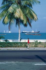 Bord mer à Libreville