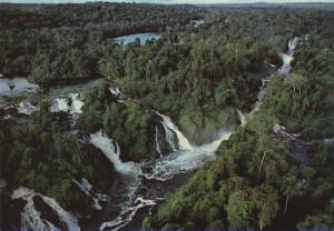Chutes de Kongou dans le parc national d'Ivindo