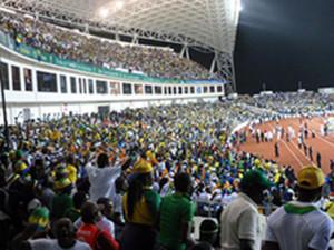 CAN 2012 au Stade de l'Amitié Sino-Gabonaise